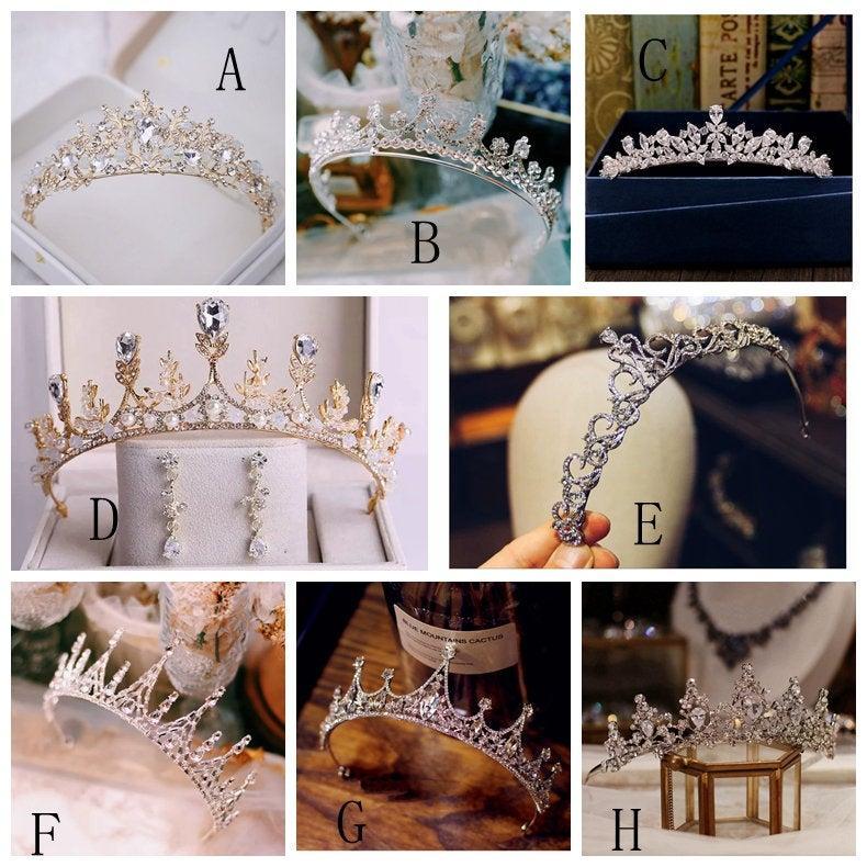 زفاف - bridal Tiara, bridal Crown, Princess tiara, wedding tiara, Princess crown,  tiara u-shape,bridal headband, wedding headband,crystal headband