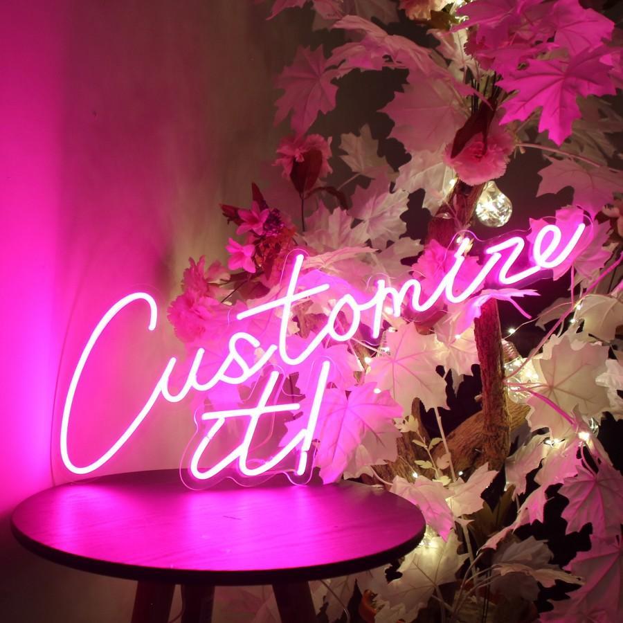 زفاف - Neon Sign / Custom Neon Sign / Neon Signs / Neon Sign Light / Pink Neon sign / LED Neon Sign / Wedding neon Sign / Bedroom Neon Sign