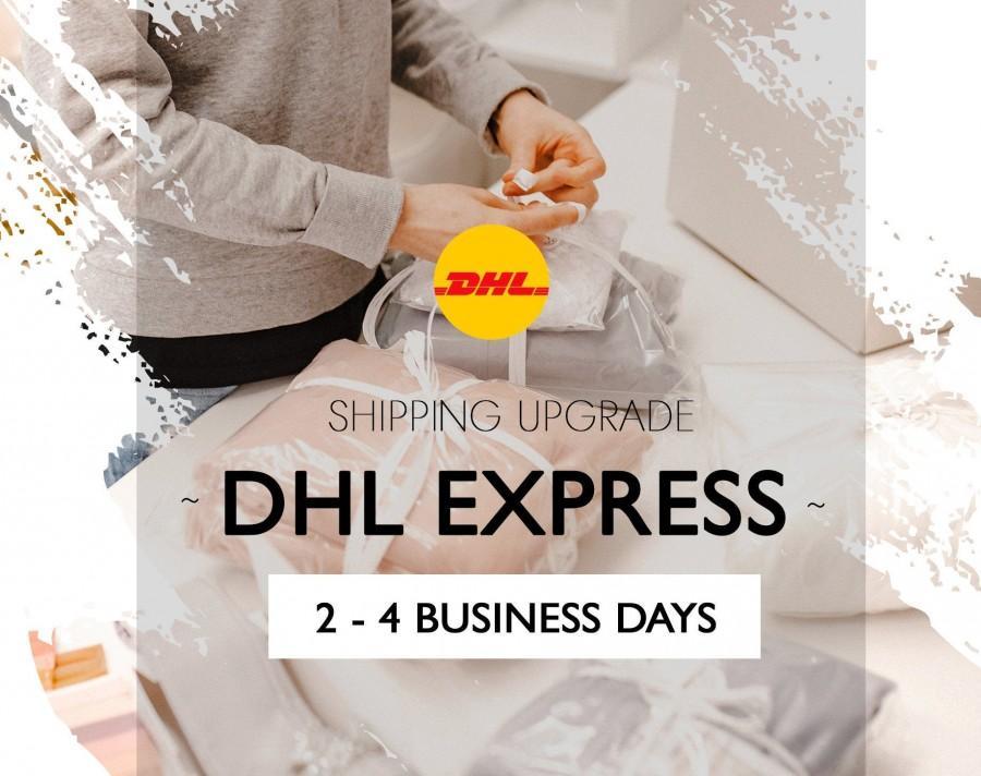Wedding - Shipping upgrade DHL Express