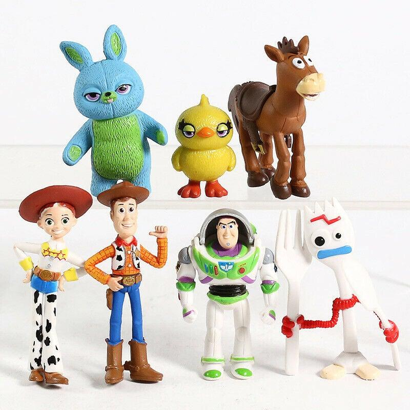Wedding - Toy Story Cake Topper Toys Figures Kids Birthday Present Cake Decoration 7 pieces