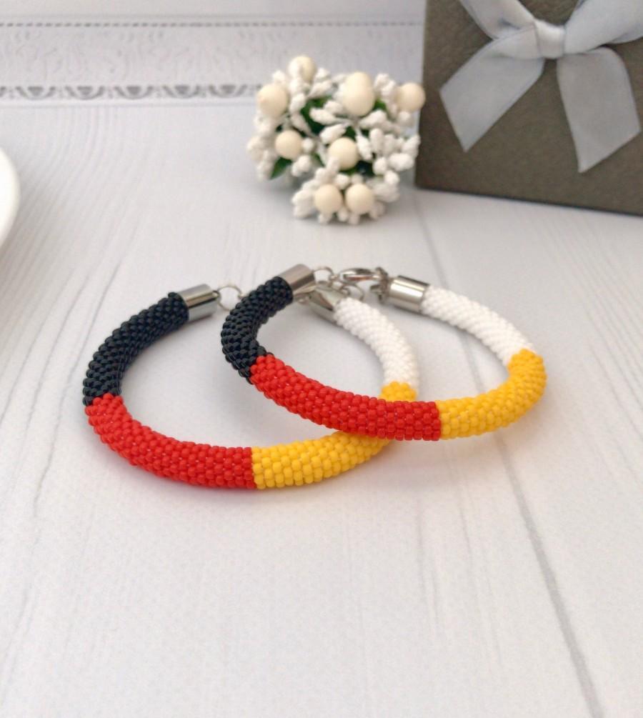 Wedding - Native Medicine Wheel Bracelet American beaded bracelet Ethnic jewelry Crochet seed beads bracelet Boho style Men's bracelet Unisex jewelry