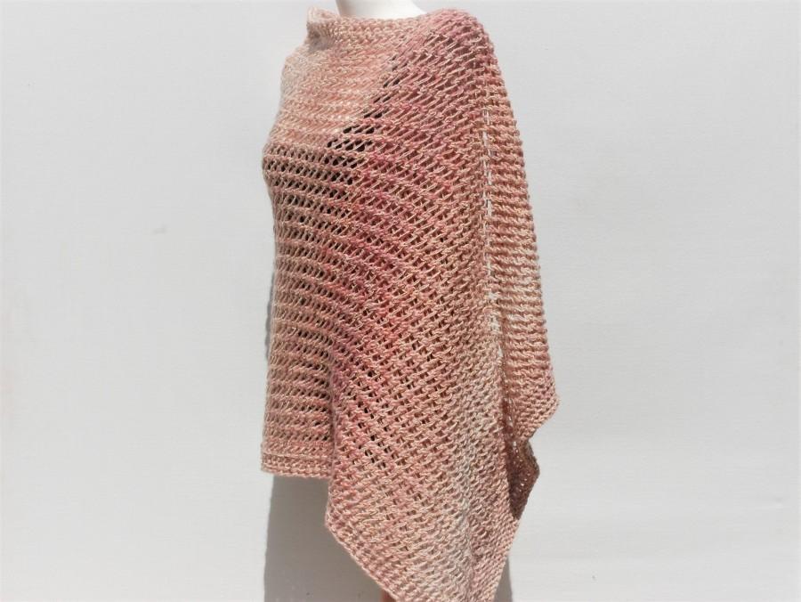 Wedding - Handknit shawl-Bridal cover up- Hand knitted shawl-Bridal shawls and wraps-Knitted shawl and wraps-Bridal shawls and wraps