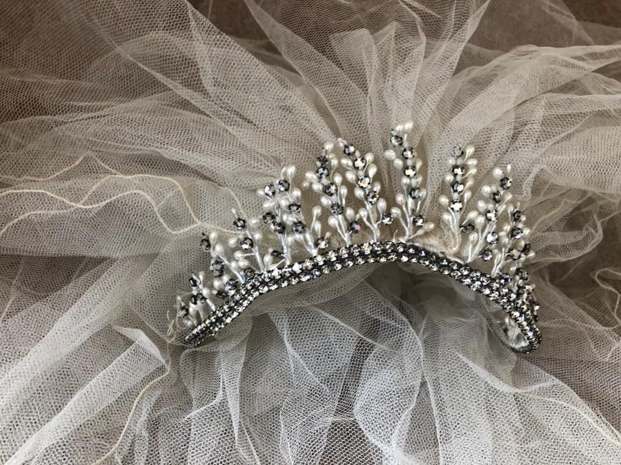 Mariage - Vintage Bridal Veil