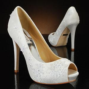 Amazing White Wedding Shoes