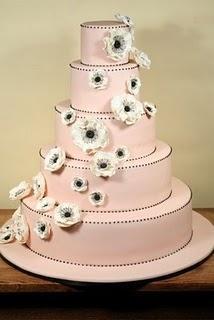 زفاف - كعك الزفاف أنيقة فندان كعكة الزفاف التصميم ♥