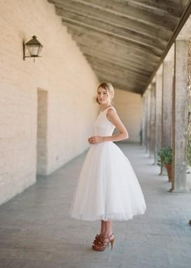 Tea Party Wedding Dresses