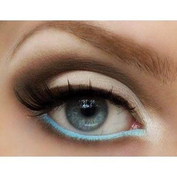 Wedding - Pop Color Eye Makeup ♥ False Eyelashes For Your Wedding Day