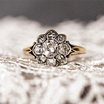 antique wedding ring vintage wedding ring - Antique Wedding Ring