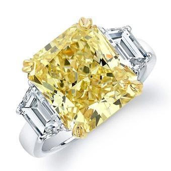 48ac568a7c325 Yellow Wedding - Luxury Yellow Diamond Ring #800899 - Weddbook