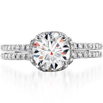 Mariage - Anneau Luxry Diamond Wedding ♥ Parfait Diamond Solitaire ...