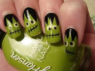 Unique Creative Halloween Nails ♥ Halloween Nail Art ...