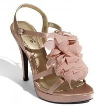 wedding photo - Chic Pale Pink Wedding Sandals
