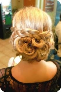 wedding photo - Cheveux