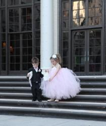 wedding photo - Flower girl & Ring Bearer