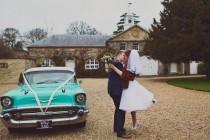 wedding photo - A Fun 1950s Feel Wedding