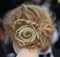 wedding photo - Nicole Kidman's Amazing Swirl-Braid Bun