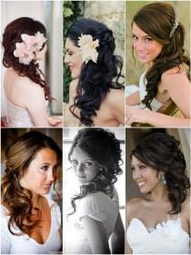 wedding photo - Hot on Pinterest: Side Do Wedding Hairstyles