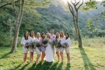 wedding photo - An Outdoor Fairy Light Wedding in South Africa