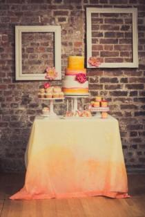 wedding photo - Underground Ombre Peony Wedding Ideas