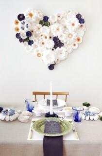 wedding photo - DIY Paper Flower Tutorial