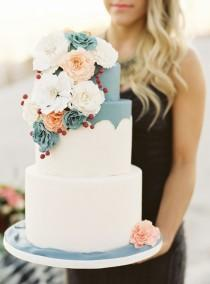 wedding photo - 6 Wedding Cake Design Trends 2014