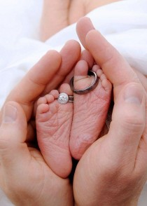 wedding photo - cute new born photography