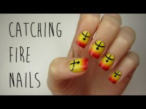 wedding photo - The Hunger Games: Catching Fire Nails