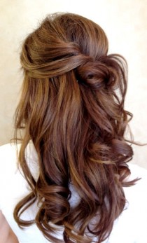 wedding photo - Beautiful and Elegant Wedding Hairstyle Ideas