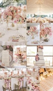 wedding photo - 4 Dreamy and Romantic Wedding Reception Themes