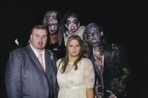 wedding photo - Rustic and Anthropologie Inspired Wedding… with Zombies!: Anna & Tommy