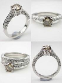 wedding photo - Timeless Beauty: Antique Style Engagement Rings from Topazery