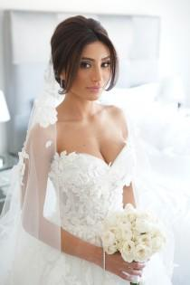 wedding photo - Get Inspired: Beautiful Real Brides with Stunning Wedding Dresses