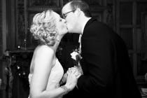 wedding photo - The Kiss