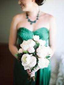wedding photo - Emerald Green Weddings (color Of 2013)