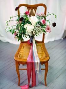 wedding photo - Romantic Berry Wedding Bouquet