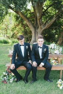 wedding photo - Suit Up