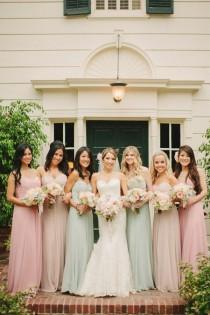 wedding photo - Mint Green Weddings