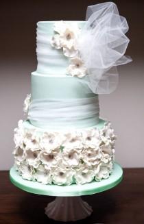 wedding photo - Seafoam Green Wedding