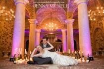 wedding photo - Rustic Tuscany Bella Collina Wedding In Radiant Orchid