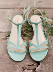 wedding photo - Mint Wedding Inspiration