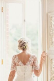 wedding photo - Outdoor Humanist Wedding with a Yellow Rustic Style
