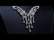 wedding photo - Diamond River Necklace