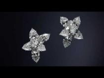 wedding photo - Winston Cluster Earrings