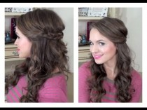 wedding photo - Simple Half Up Hairstyle - My Bridesmaids Hairstyles