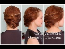 wedding photo - Quick And Easy Catelyn Stark Inspired Updo