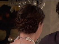wedding photo - Blair Waldorf Braided Bun