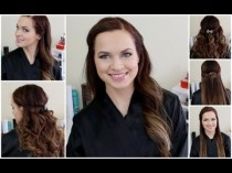wedding photo - Quick And Easy Half Up Styles For Any Hair Type!