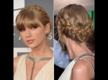wedding photo - Taylor Swifts' 2013 Grammy's Updo