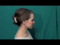 wedding photo - Quick Easy Summer Updo For Weddings Or Everyday!