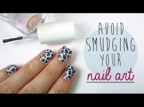 wedding photo - How To Avoid Smudging Your Nail Art!